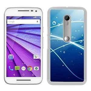 Hot Sale Motorola Moto G 3rd Generation Case ,Water drop Live White Moto G 3rd Gen Cover Unique And Beautiful Designed Phone Case