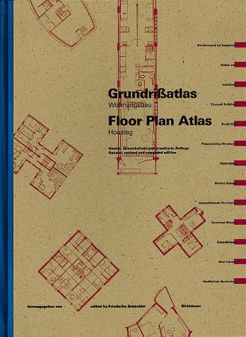 Grundrißatlas / Floor Plan Manual: Wohnungsbau / Housing