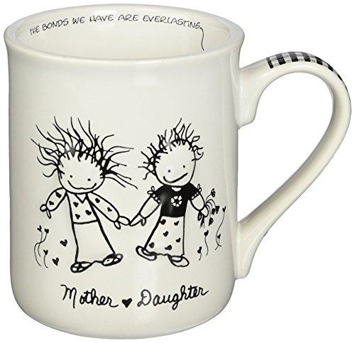 Enesco Children of the Inner Light Daughter (From Mother) Stoneware Gift Mug, 16 (Enesco Mug)