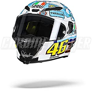 AGV Pista GP R Winter Test 2017 Tavullia Limited Edition Helmet, GP-R 515XRakBiBL  Home 515XRakBiBL