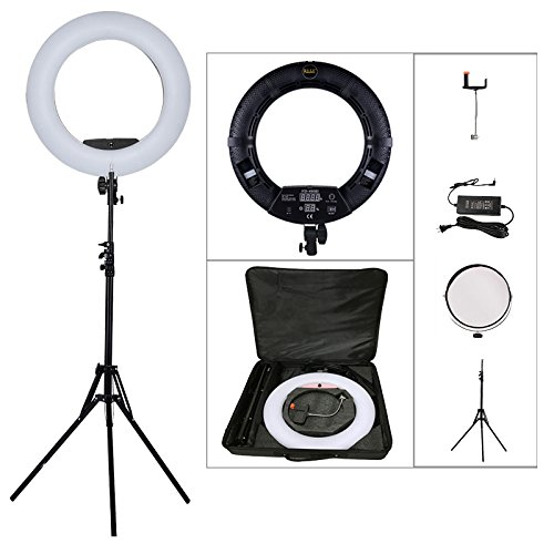 Amazoncom Yidoblo 96w 18 Led Ring Lights Kit Fd 480 With Makeup