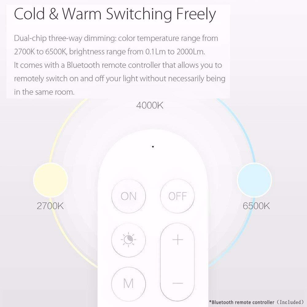 Yeelight Smart LED Ceiling Light, YLXD12YL