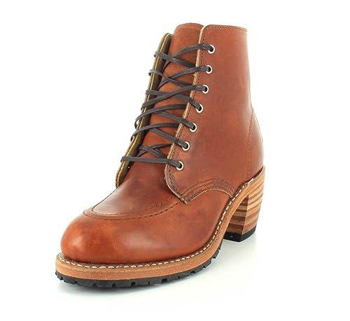 Red Wing Shoes Botas de Piel para Mujer marrón Braun (Oro