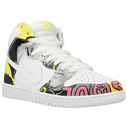 - Nike Mens Dunk High PRM DLS SB QS De La Soul White/Firefly Leather Size 10 Skateboarding