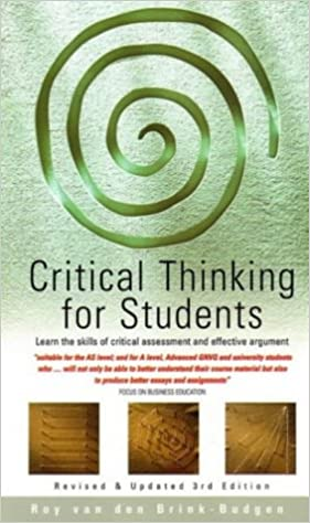 Critical thinking for students roy van den brink budgen pdf viewer