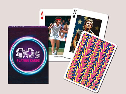 Cards 1980s Themed ()