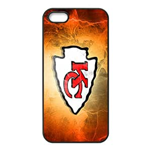 XXXD KansasCityChiefs fire Hot sale Phone Case for iPhone 5S