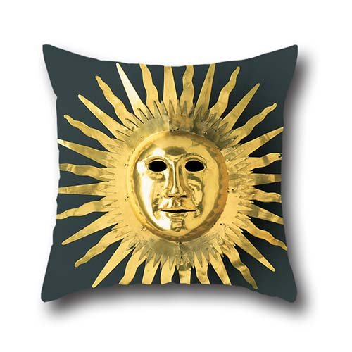 Slimmingpiggy Comfortable Bedding Goods Ancient Egyptian Sun Mask 20X30 Inch Pillow Case