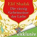 Die vierzig Geheimnisse der Liebe Hörbuch von Elif Shafak Gesprochen von: Ann Vielhaben