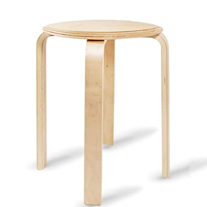 Marvelous Amazon Com Stacking Stool Made Of Solid Bentwood Seat Gmtry Best Dining Table And Chair Ideas Images Gmtryco