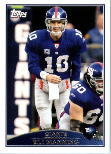 2009 Topps NFL Football Card #159 Eli Manning New York Giants - NFL Trading Card