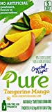 Crystal Light Pure Tangerine Mango On The Go Drink Mix, 7-Packet Box (50 Box Pack)