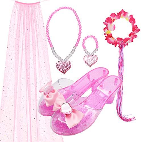 5 Pcs Princess Party Favor Jewelry Fairy Costume