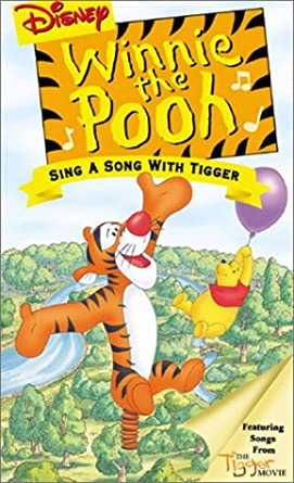 Amazon Com Winnie The Pooh Sing A Song With Tigger Vhs Jim