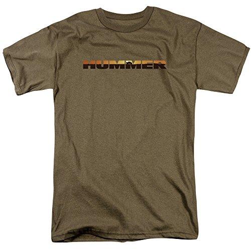 Buy hummer hummer sunset logo mens short sleeve shirt