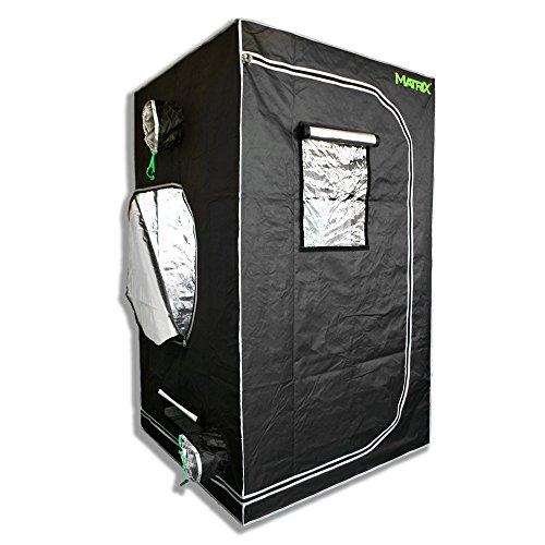 """515XVHzjXkL - Matrix Horticulture 48""""x48""""x80"""" Grow Tent Diamond Mylar 600D Hydroponic Growing Room Box for Indoor Plants Observation Window Arch Door D Design 4x4"""