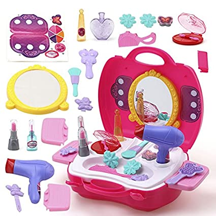 buy funblast pretend play cosmetic and makeup toy set kit for