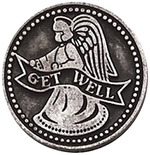 Cathedral Art PT172 Get Well Pocket Token, 1-Inch