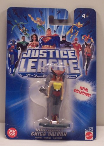 Hawkgirl Justice League Unlimited Metal Collection Figure