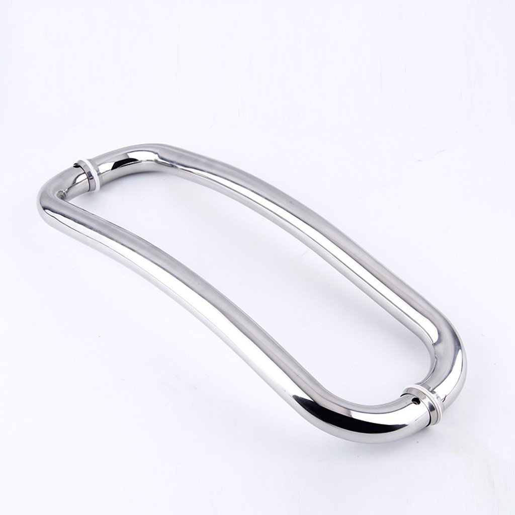 YAOHAOHAO 201 stainless steel hand rails bath rooms beautiful curved lines (style: (a)