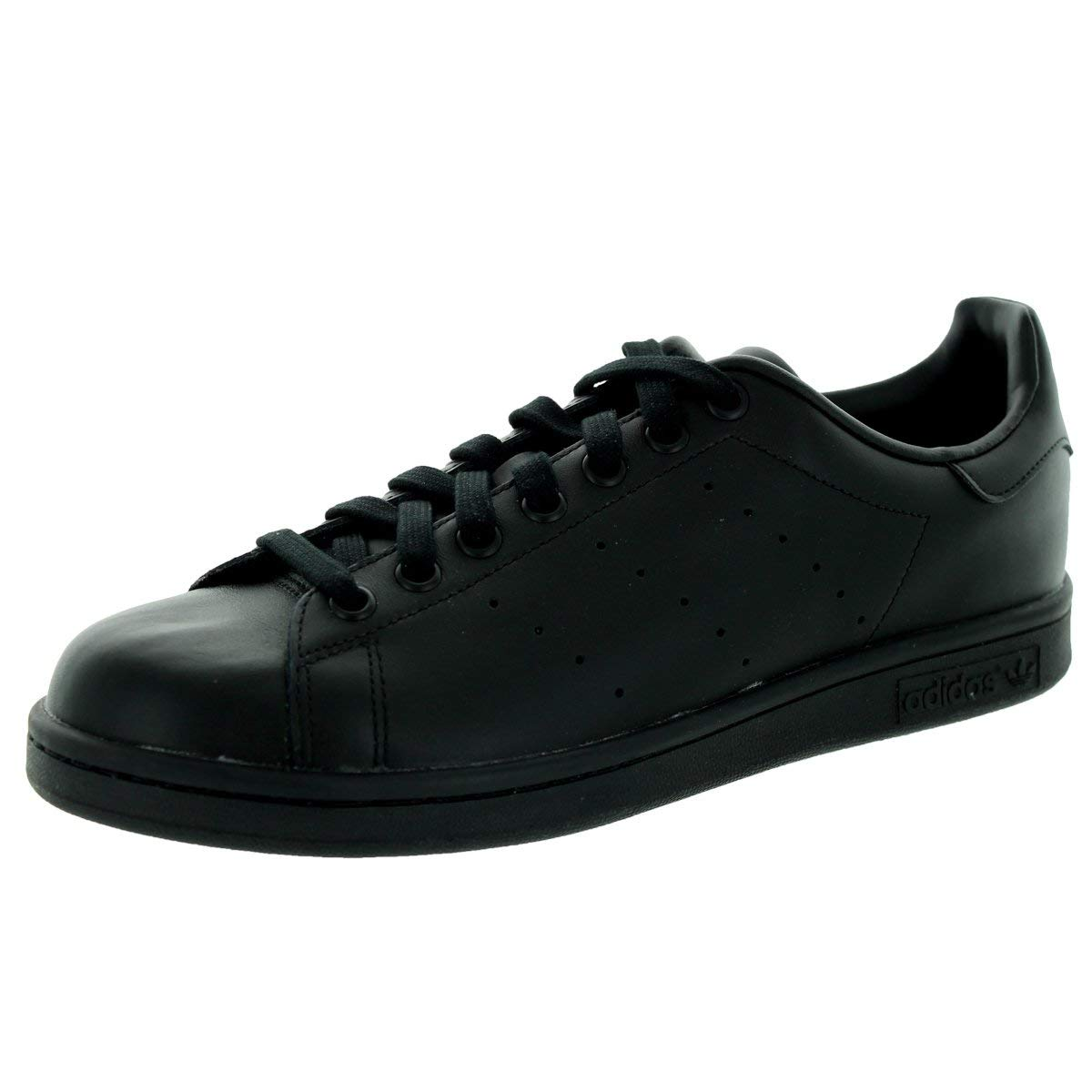 huge discount 96249 7d184 Amazon.com   adidas Stan Smith Mens in Black Black by   Fashion Sneakers
