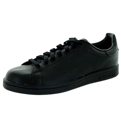 new product cb073 a51dc Amazon.com | adidas Stan Smith Black Black Mens Trainers ...