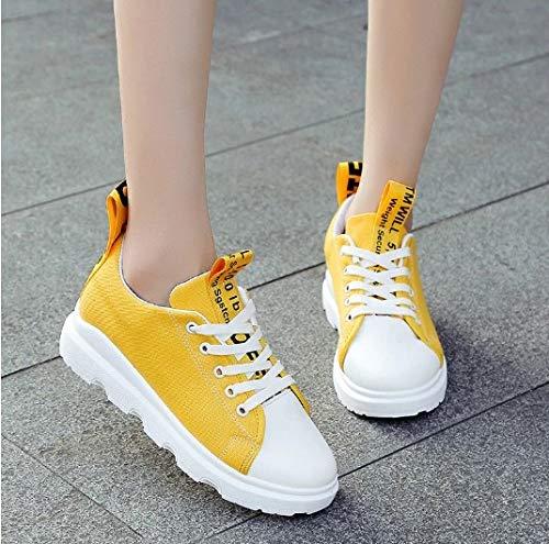 new product 0647d d1afc Tela Casual Scarpe Sneaker Sneakers Sportive Studente In Con Ysfu Donna Da  WaXxXqz