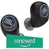 JBL FREEXBLK Free X Wireless in-Ear Headphones - (JBLFREEXBLKBT) Black (Renewed)