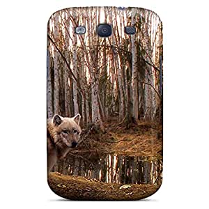 samsung galaxy s3 Perfect phone covers Protective Beautiful Piece Of Nature Cases Series wolf the predator
