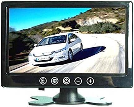 Monitor 10.1 Pulgadas TFT/LED Hi-Res 1024 x 600 Pantalla Monitor a Colores Botones a táctil con Mando a Distancia para Coche Caravana Casa: Amazon.es: Electrónica