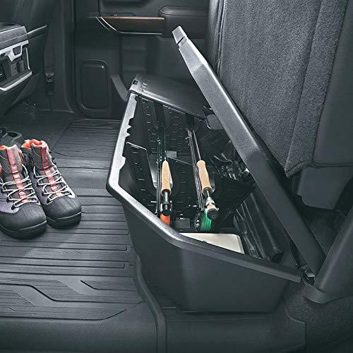 2019 Silverado Sierra (Crew CAB) Next Gen Underseat Storage Box 84085248 Black Genuine GM