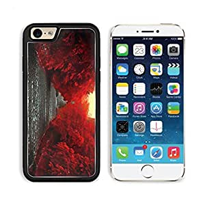 Red Trees Along The Road 48887 Apple iPhone 6 TPU Snap Cover Premium Aluminium Design Back Plate Case Customized Made to Order Support Ready Liil iPhone_6 Professional Case Touch Accessories Graphic Covers Designed Model Sleeve HD Template Wallpaper Photo