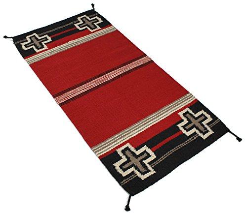Cheap  Splendid Exchange Hand Woven Heavy Wool Southwest Area Rug, 2.7 by 5.3..
