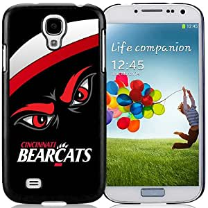 NCAA American Athletic Conference AAC Football Cincinnati Bearcats 3 Hottest Customized Design Samsung Galaxy S4 Cover Case