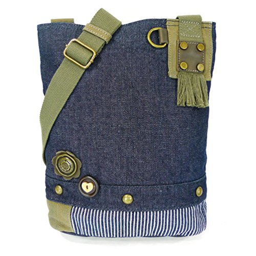 Canvas Detachable xBody Messenger Purse Sea Metal Blue with Turtle Chala Charm Bags Xx6wXg