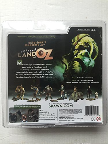 Mcfarlane Toys Twisted Land Of Oz Action Figure Dorothy No Import