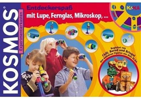 Kika entdeckerspaß mit lupe fernglas mikroskop : amazon.de: spielzeug