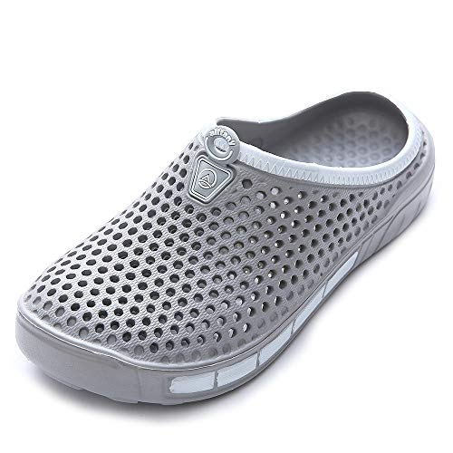 Unisex Aiffany Garden Sandals Slippers Gray Shoes Clogs 4TPTx0