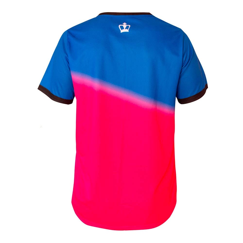 Black Crown Camiseta Tour Azul Fucsia: Amazon.es: Deportes y aire ...