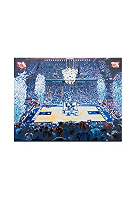 Glory Haus 41072914 Kentucky Rupp Sea of Blue Canvas, Multicolor