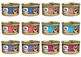 nutro max canned cat food - Nutro Max Cat Adult Canned Food 6 Flavor Variety Bundle: (2) Turkey & Chicken Liver, (2) Seafood & Tomato Bisque, (2) Duck, (2) Lamb & Turkey Cutlets, (2) Venison & (2) Salmon, 3 Oz Ea (12 Cans Total)
