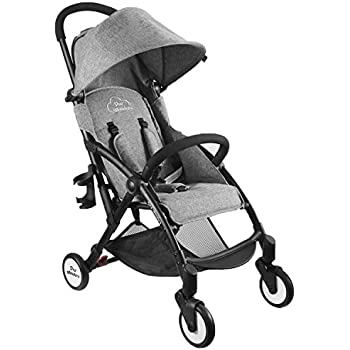 Amazon Com Tiny Wonders Single Baby Stroller With Dual Brake