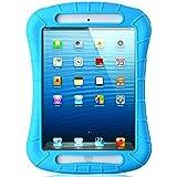 iPad Mini Case, iXCC Shockproof Silicone Protective Case Cover for iPad Mini, Mini 2, Mini 3and iPad Mini Retina Models - Blue