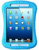 iPad Mini Case, iXCC ® Shockproof Silicone Protective Case Cover for iPad Mini, Mini 2, Mini 3and iPad Mini Retina Models - Blue