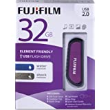 Fujifilm USB 2.0 Water and Shock Resistant Flash Drive with Cap (600012320)