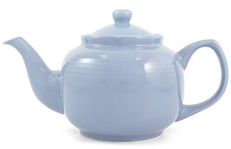 Amazon.com: Polvo Azul Classic 2 Copa Tetera de cerámica ...