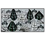 Sparkling Silver New Year's Eve Party Assortment for 25