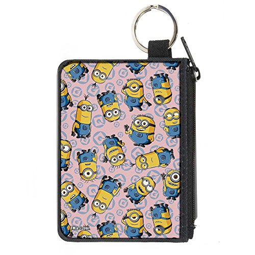 Music Coin Purse (Buckle-Down Buckle-Down Canvas Coin Purse Minions Accessory, -Minions, 4.25