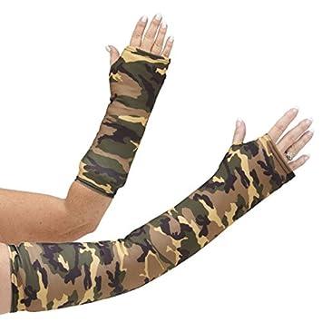 """9d5b7a3de1d4ed CastCoverz! Designer Arm Cast Cover - Camouflage Green - Medium Short:  11"""" length"""