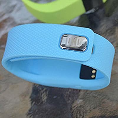 Smart Watch Pedometer Intelligent Alert Activity Sleep Wristband Tracker Blue